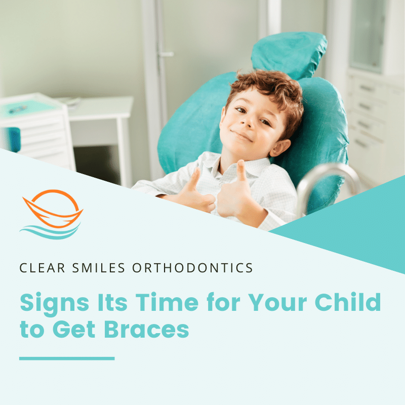 Signs Its Time to Get Kids Braces