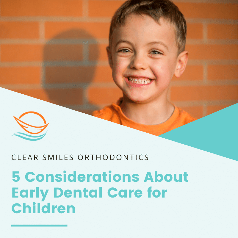 Early Dental Care for Children