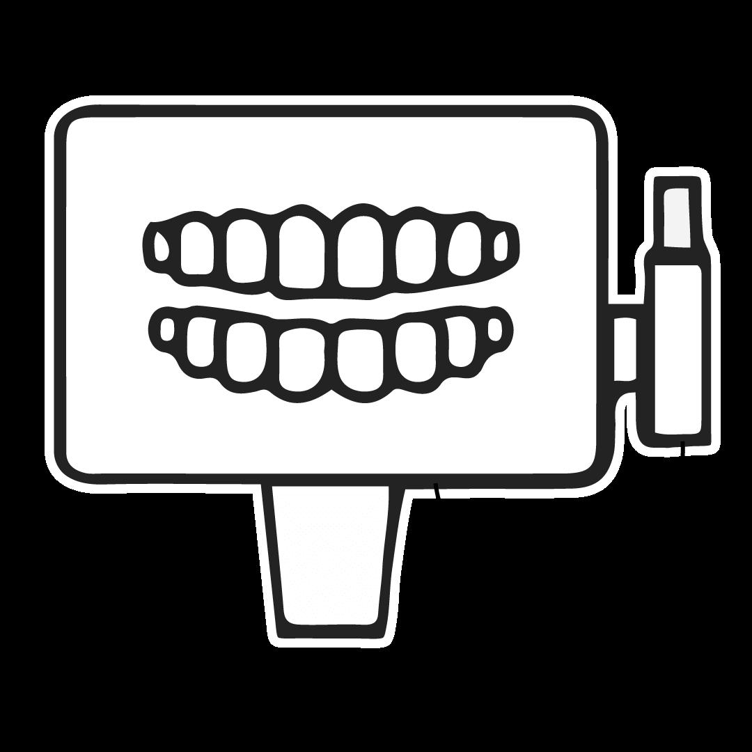 illustration of iTero dental scan